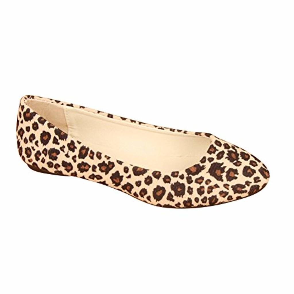 MISSMAO Femme Ballerines Leopardo Chaussures Plates Été Sauvage et Gracieux 2018