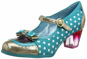 Poetic Licence by Irregular Choice Final Whistle, Mary Janes Femme, Noir 2018