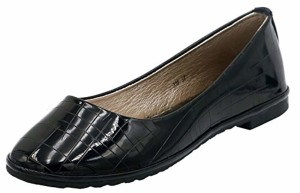 AgeeMi Shoes Femme Ballerines Plates Tire Couleur Unie Chaussures 2018