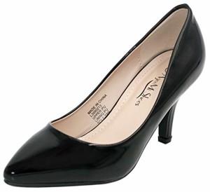 AgeeMi Shoes Femme Escarpins Talon Moyen Pointue Chaussure de Cour 2018