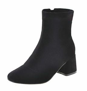 AgeeMi Shoes Femme Zip Fermeture D'Orteil à Talon Correct Zip Bottes 2018