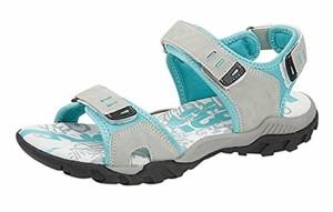 Femmes PDQ Rose Gris Aventure Randonnée Marche Sport Velcro Sandales Pointure 4 5 6 7 8 2018