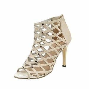 LUCKYCAT Prime Day Amazon, Sandales d'été Femme Chaussures de Été Sandales à Talons Chaussures Plates Peep Orteils Talons Hauts Rivets Rome Gladiateur Sandales de Mode 2018 2018