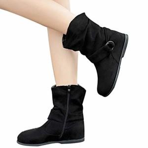 Chaussures Femmes,Sonnena Bottes Femme Vintage Style Femmes Flat Booties Chaussures Douces Ensemble De Pieds Bottines Bottes Moyen Sneakers Shoes 2018