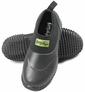 Michigan Chaussures imperméables à enfiler – en néoprène – pour le jardin/la boue/l'extérieur – noir 2018