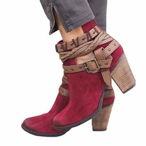 Sonnena Femmes Bottes Femmes Dames Chaussures, Mode Femmes Automne Chaussures De Fête De Mariage Sexy Rivet Boucle Bottes À Talons Cheville Boot 2018