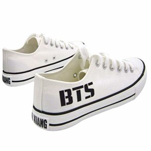 2018 Kpop BTS a imprimé des Chaussures de Toile Tendance pour Hommes et Femmes 2018