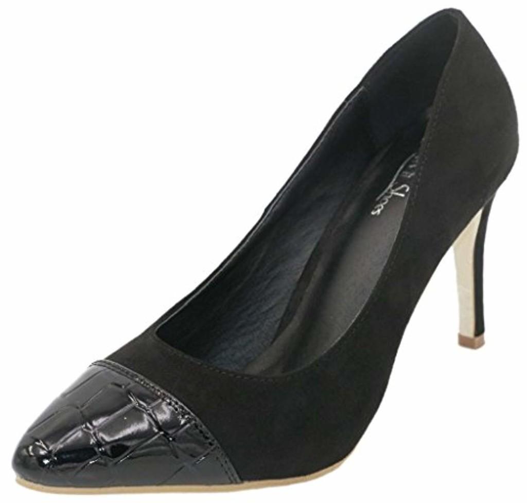 AgeeMi Shoes Femmes Escarpin Bout Pointu Talon Haute Tire Chaussures 2018