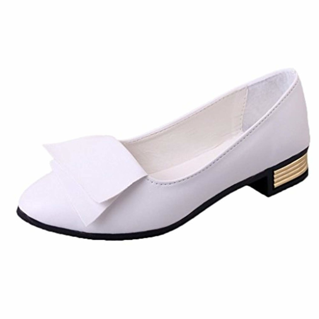 Ballerines Comfort Femme Automne Chaussures Plates Large en Cuir,Overdose Casual Loafers Flat 2018