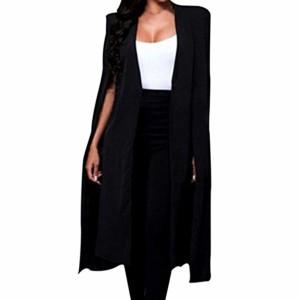 Beikoard – Chemise Vetement Femme Été,Veste Femme Femmes Loose Long Manteau Blazer Manteau Cape Cardigan Veste Trench Outwear Chemise Femme 2018