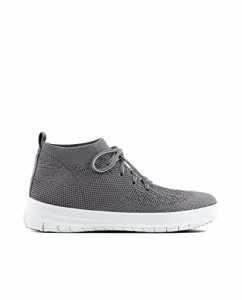 FitFlop Uberknit Slip-on High Top Sneaker, Baskets Hautes Femme 2018