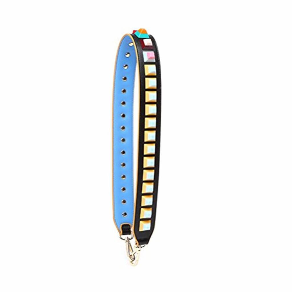 Umily Femmes filles Wide sac à main de remplacement bracelet en cuir multicolore 90 cm bandoulière sangle pour sacs à main 2018
