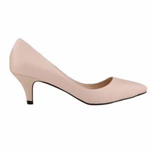 WanYang Femme en Cuir Lanière Bride Cheville Escarpin Nu-pieds Talon Haut Soirée Pointue Chaussures 2018