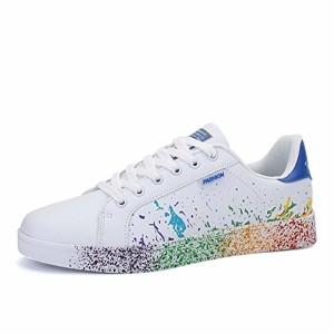 JEDVOO Homme Femme Baskets Mode Classics Lacet Sneakers Basses Fitness Sport Chaussures de Gymnastique 2019