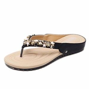 LuckyGirls Femmes Bobo Tongs Sandales, Étoiles Mode Anti-Dérapant Chaussures De Plage Occasionnels 2018