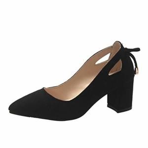 SANFASHION Escarpins Mode Femmes Sandale Bout Pointu Cheville Hauts Talons Parti Travaille Chaussures Simples 2019