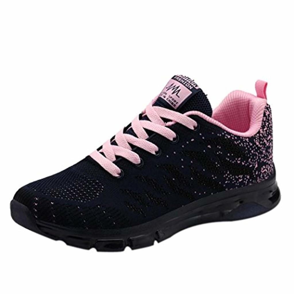 S&H-NEEDRA Femme Printemps Automne Hiver Coussin d'air De Chaussures TisséEs Volantes Sneakers Student Net De Course Sports De Loisirs Chaussures 2019