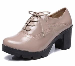 DADAWEN Femmes Chaussures de Ville à Lacets Derbies Baskets Cuir Plateforme/Mary Jane Oxfords Chaussures 2019