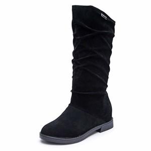 Femmes Chaussures, Sonnena Femmes Fille Bottes Automne Hiver Femmes Botte Douce Élégant Appartement Troupeau Chaussures Bottes de Neige 2019