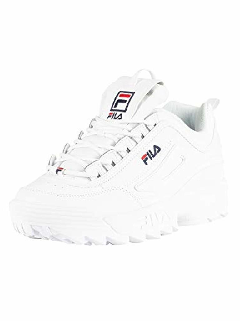Fila Femmes Blanc Disruptor II Premium Basket 2019
